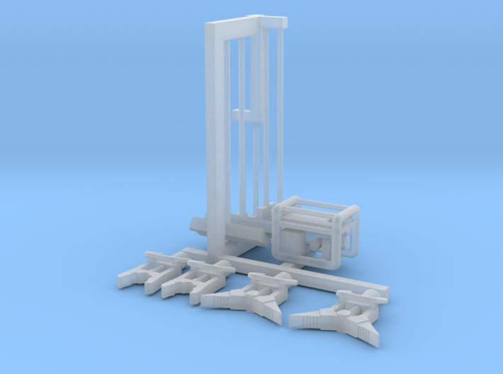 Rescue Equipment Set 1-87 HO Scale 3d printed