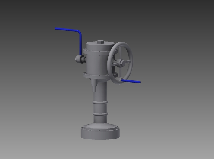 Downton Pump 1/35 3d printed