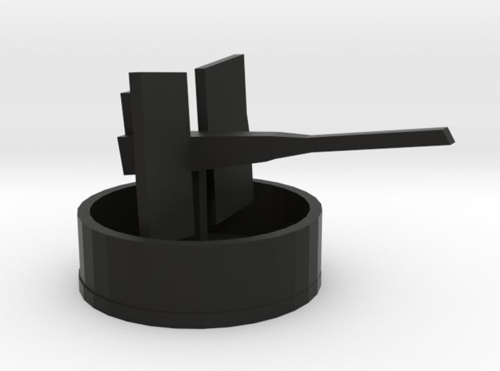 20mm Oerlikon with tub 3d printed