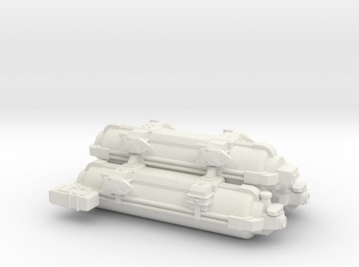 Omni Scale WYN Auxiliary Battle Control Ship SRZ 3d printed