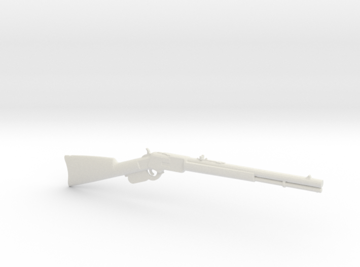 1:12 Miniature Winchester 1873 Rifle 3d printed