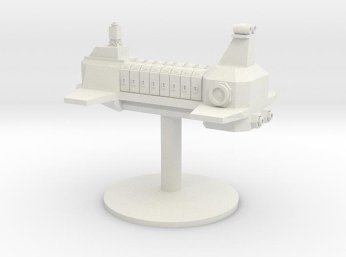 Transport ship London 3d printed