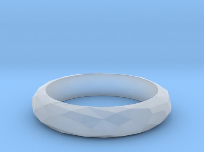Low Poly Ring Narrow 3d printed