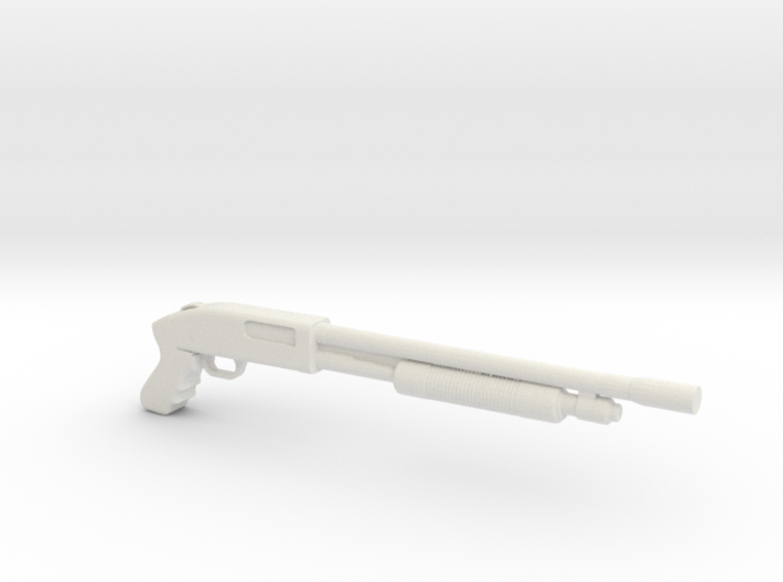 1:12 Miniature Shotgun P400 3d printed