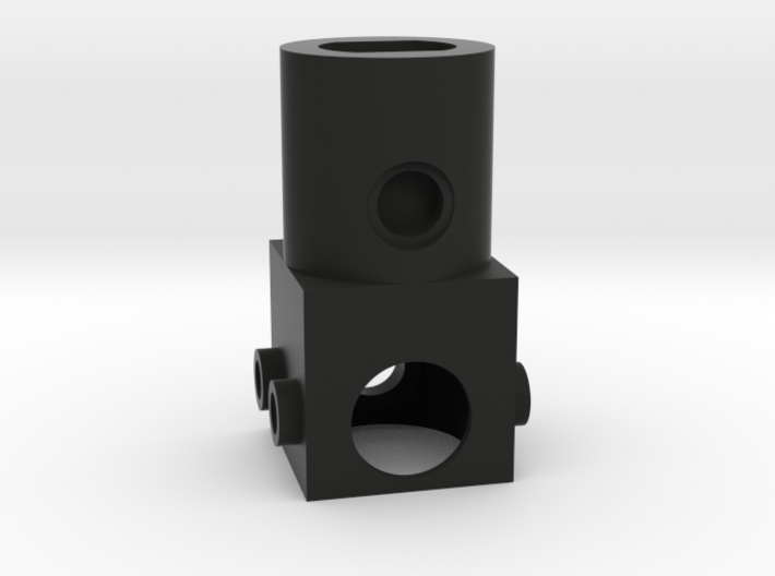 Vertical Motor Block 3d printed