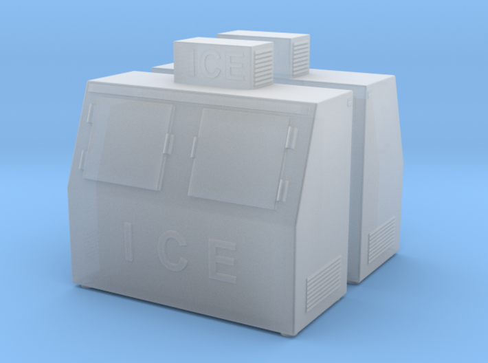 Ice Machine 01. HO Scale (1:87) 3d printed