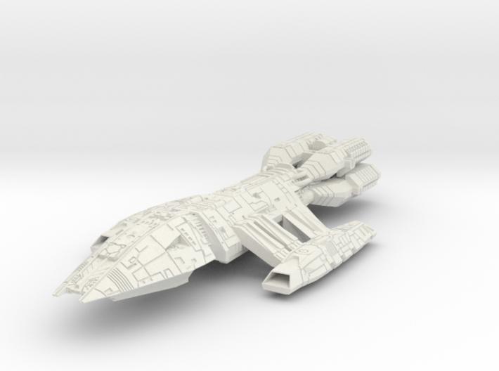 BattleStar Valdor Class Cuiser 3d printed