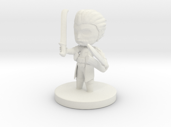 Steadfast Fighter Cimon 3d printed
