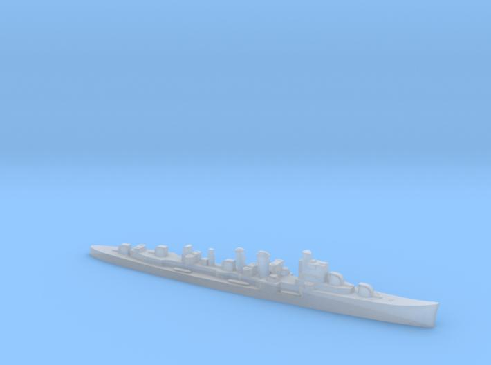 HMS Delhi 1:1800 WW2 naval cruiser 3d printed
