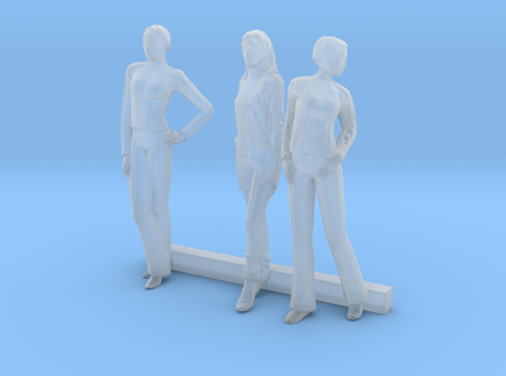 S Scale Women 3 3d printed This is a render not a picture