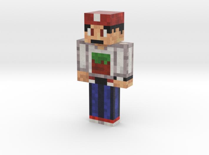 MineMario101 | Minecraft toy 3d printed