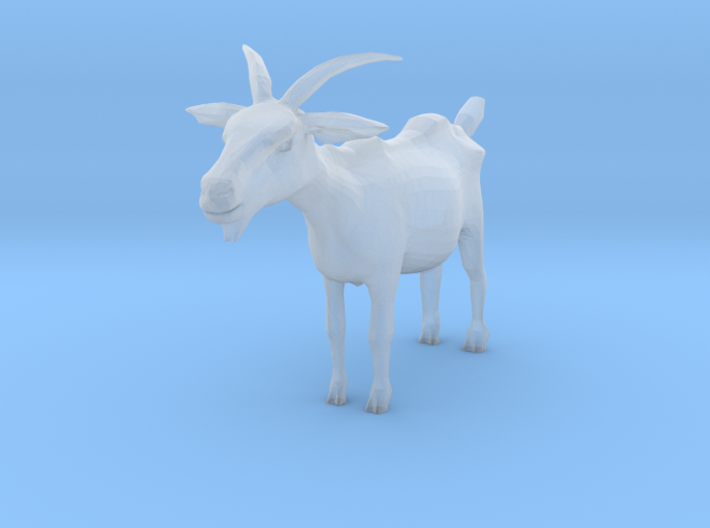 TT Scale Goat 3d printed This is a render not a picture