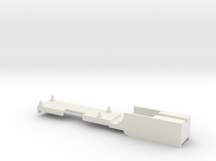 DCC Decoder mount for Athearn Models (BB, RTR). Ma 3d printed