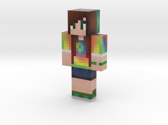 Alyssa | Minecraft toy 3d printed
