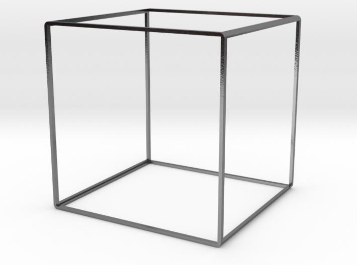Cube Bangle 55 3d printed