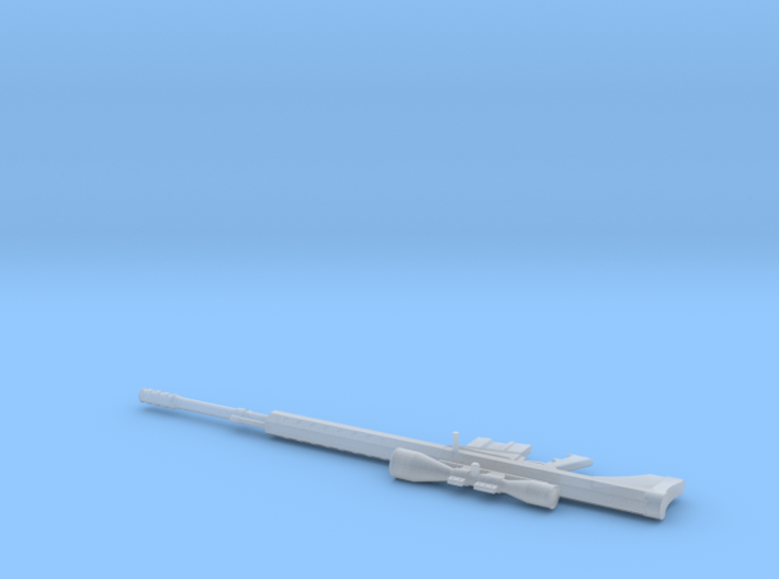 1:6 Miniature Serbu BFG-50A Semi-automatic rifle 3d printed