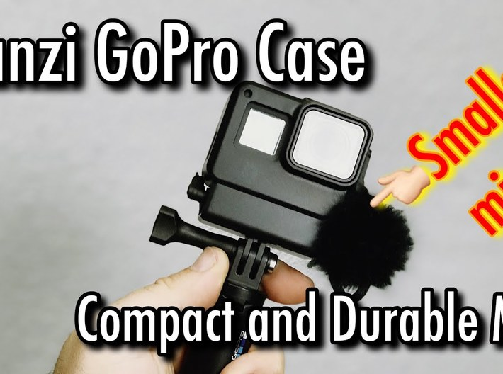 Ulanzi GoPro Case Vlogging Adapter 3d printed