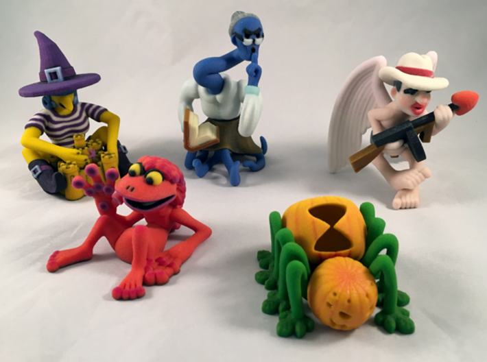2 Inch Monsters: Batch 16 3d printed