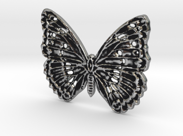 Tropical butterfly 3d printed