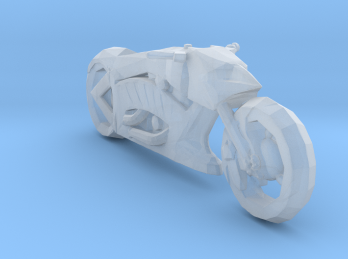 Batbike Forever Concept 160 scale 3d printed