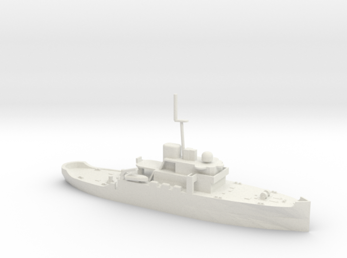 1/350 Scale Acushnet WMEC-167 Early Configuration 3d printed