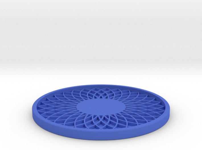 Drink Coaster (3) 3d printed
