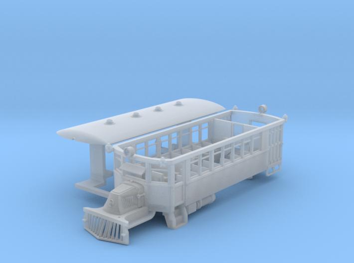 1922 Mack AC Railbus - N / Nn3 3d printed 3D printed plastic