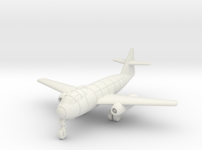 (1:144) Messerschmitt Me P.1099A (Gear down) 3d printed