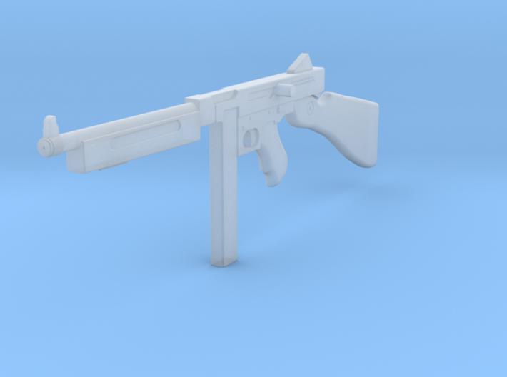1:6 Miniature Thompson SMG 3d printed