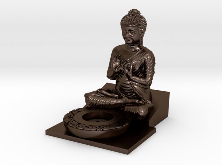 Buddha Incense Holder 3d printed