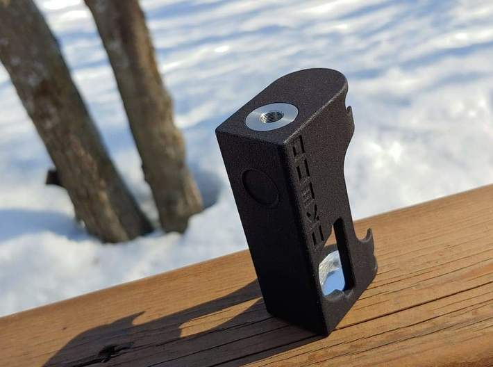 NKED 21700 Squonker 3d printed