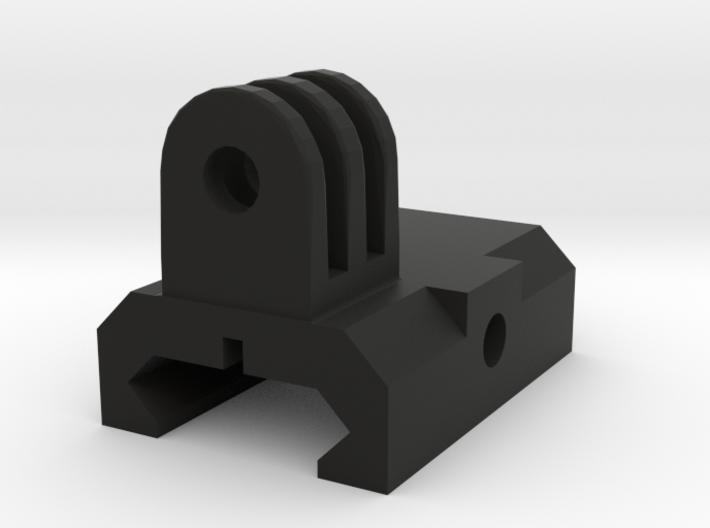 Go Pro mount weaver/ris rail 3d printed