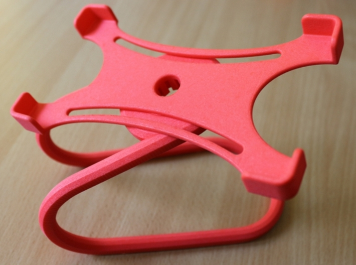 Rotary support for smartphones (example) 3d printed Side view