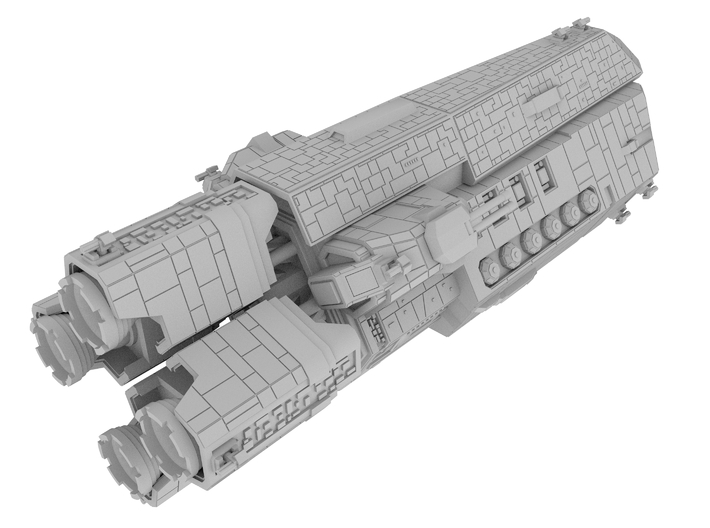 The Expanse: Scirocco [150mm] 3d printed
