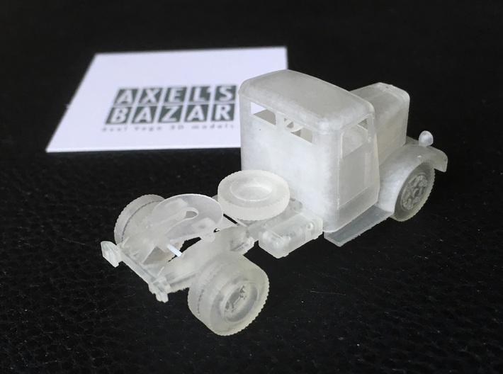 Berliet TDR 1936-1949 3d printed
