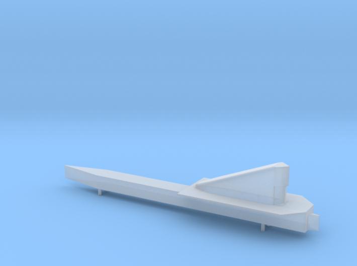 NASA LASRE pod for 1:72 SR-71 model 3d printed