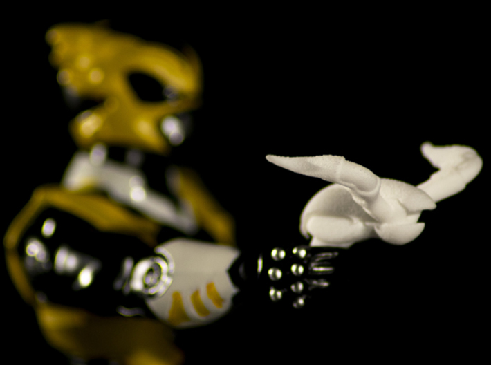 Psycho Yellow Accessory - Power Rangers  3d printed