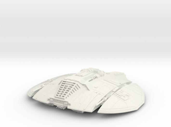 BSG - Cylon Raider 3d printed