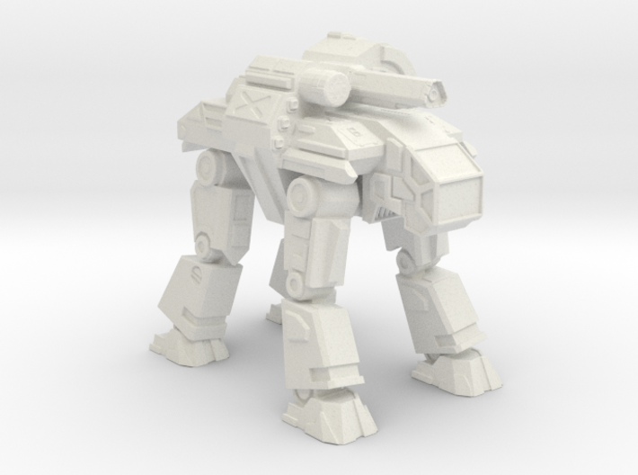 Goliath Mechanized Walker System 3d printed