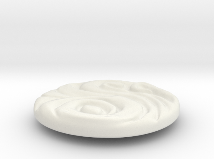2019_pieza_01_with_ring 3d printed
