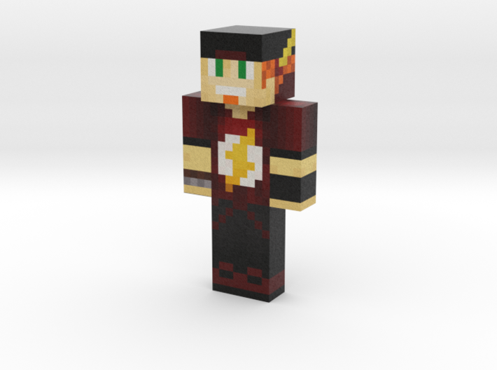 Moi | Minecraft toy 3d printed