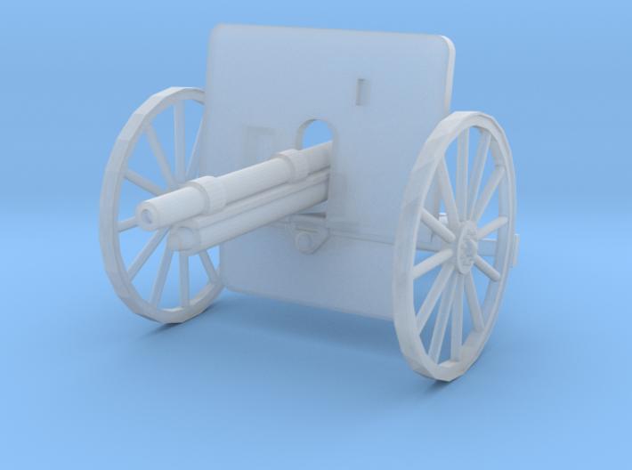 EQ24E Ehrhardt 7.5cm M1901 Field Gun (1/72) 3d printed