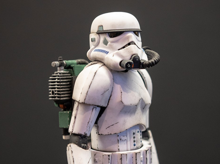 Star Wars Battlefront Backpack Magmatrooper  3d printed