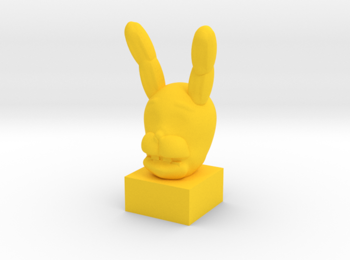 SpringBonnie Head 3d printed