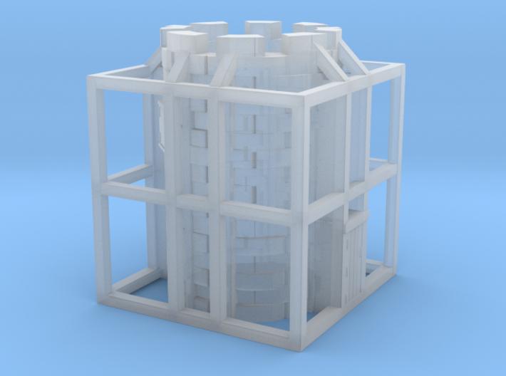 Glacier Tower 3d printed