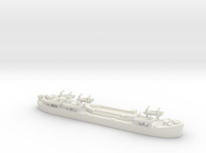 Landing Ship tank MK 2 LST 1/800 3 3d printed