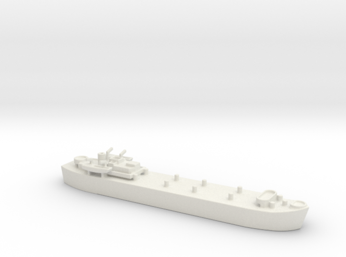 Landing Ship tank MK 3 LST 1/800 3d printed