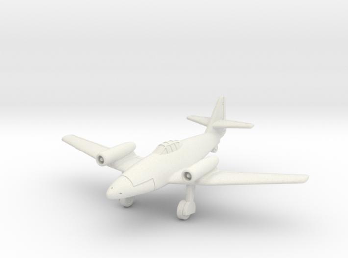 (1:144) Messerschmitt P.1065 Top Mounted Jet 3d printed