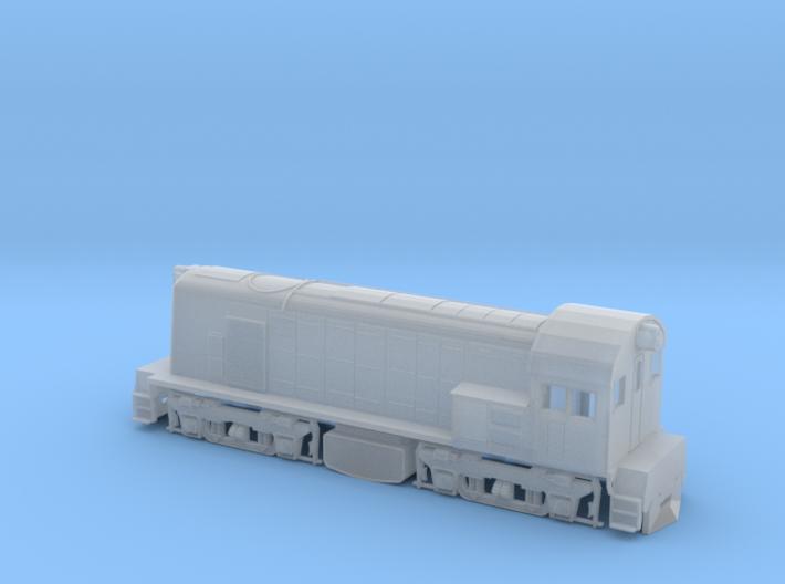 N Scale SAR 800 Class 3d printed