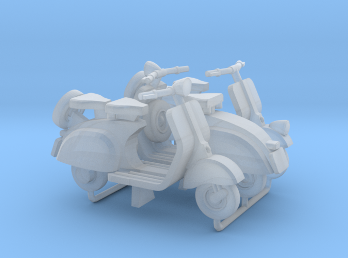1:72 Scooter Vespa (x3) 3d printed